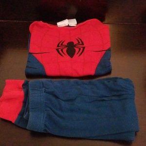 Marvel spiderman pajamas!